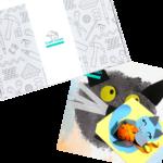 Коробка по подписке для детей Котики