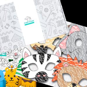 Коробка по подписке для детей Жаркая Африка