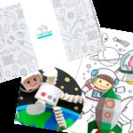 Коробка по подписке для детей Космос