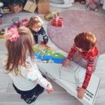 Большой картонный игровой домик «ТВОЙ ДОМИК, МАЛЫШ»
