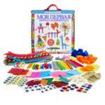 Детская коробка для творчества «Мои первые подделки» с 200 предметами
