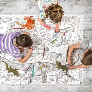 Гигантская раскраска для детей 1270 x 952мм